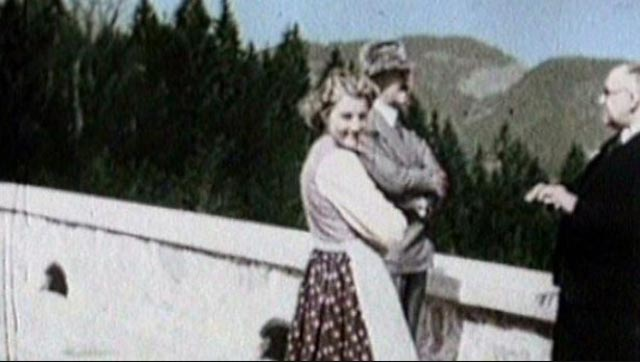 Unity Mitford with Hitler at the Berghof worldwartwo.filminspector.com