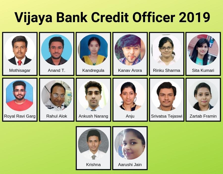 vijaya bank selection