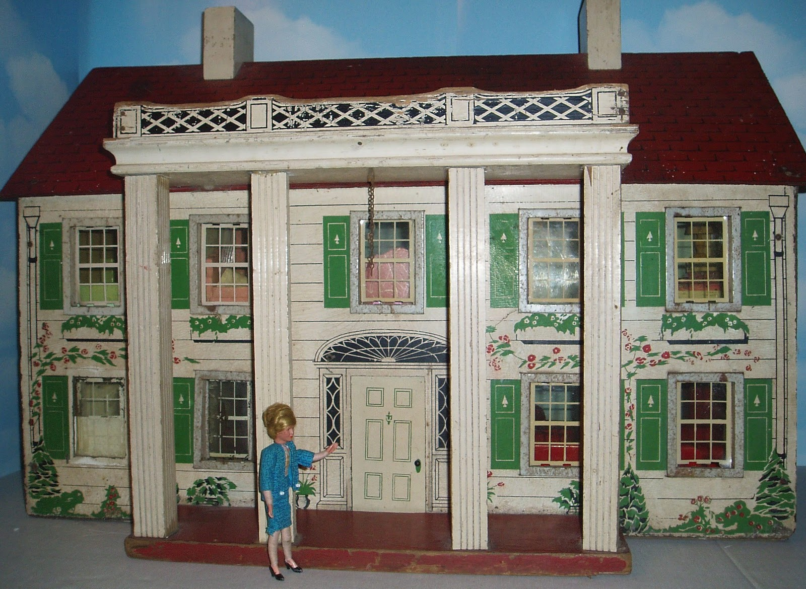 My Vintage Dollhouses My Rich Toys houses