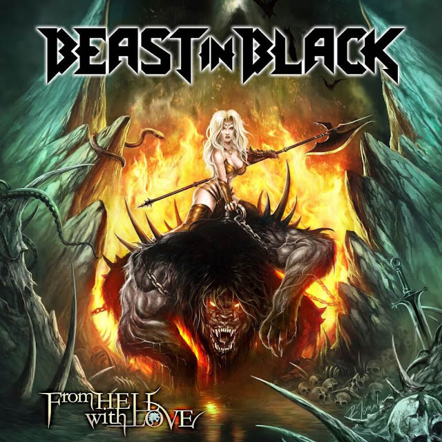 """Beast in Black – """"From Hell With Love"""" (Finlândia) (Álbum) (Nacional - 2019) (Shinigami Records/Nuclear Blast)"""