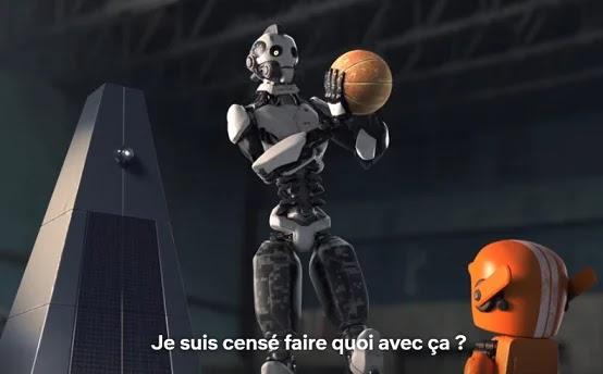 Dans Love, Death and Robots, les robots jouent mal au ballon