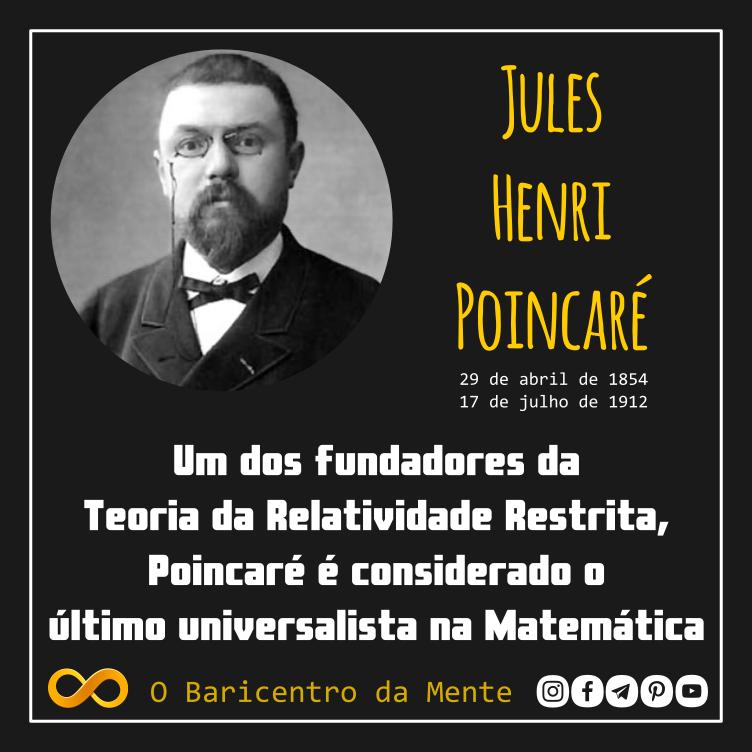 Uma breve biografia de Henri Poincaré