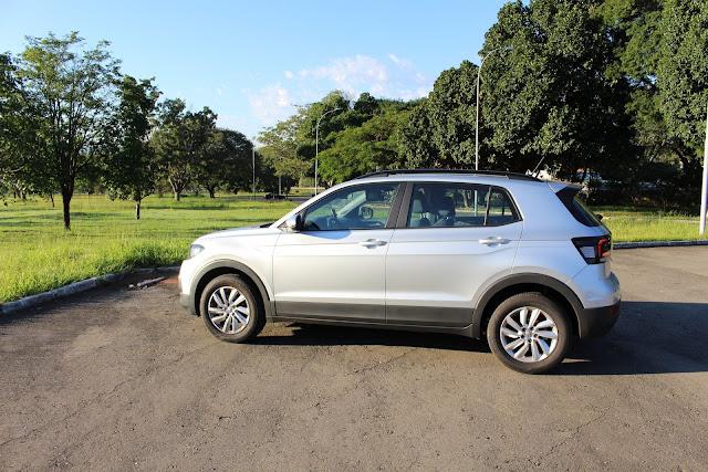 Volkswagen T-Cross 200 TSI Automático - avaliação