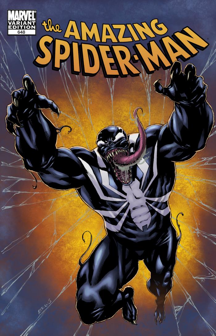 Robert Atkins Art: Sketch Cover - Round 2 - Venom...