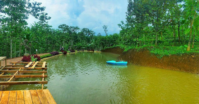Lokasi Wisata Banyu Mili Wonosalam