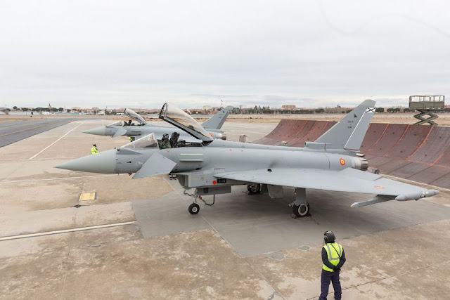 Spanish Air Force latest standard Eurofighter