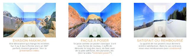 le poster 360Posters de vos toilettes chez PAPA 2.0