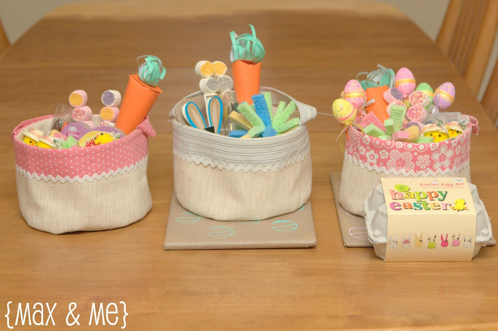 handmade easter baskets max me handmade easter baskets 8655