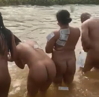 Video: River Where Men And Women Have Baths Naked For Money In South East