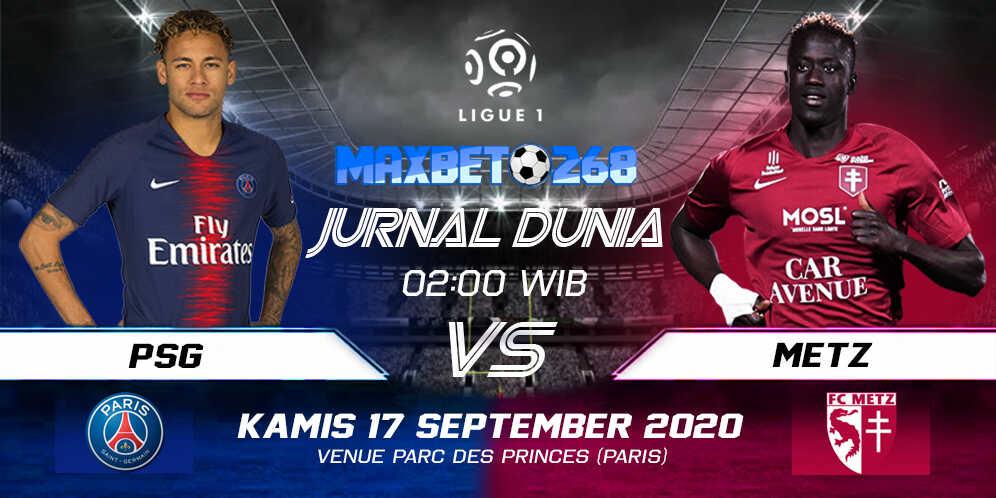 Prediksi PSG Vs Metz 17 September 2020 Pukul 02.00 WIB