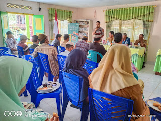 Hadir Pada Rapat Pra Musrembang Desanya , Ini Penyampaian Bhabinkamtibmas