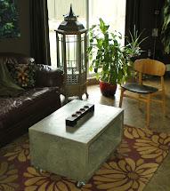 Mode Concrete Heavy Boy Coffee Table - Modern