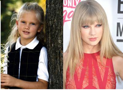 Swift Among Teen Celebs 100