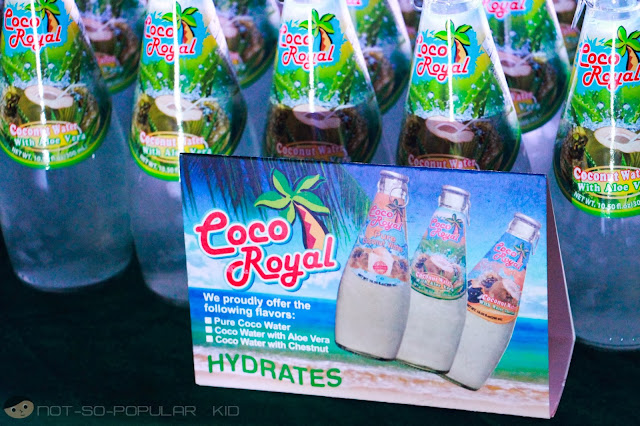 Coco Royal's Coconut Water with Aloe Vera
