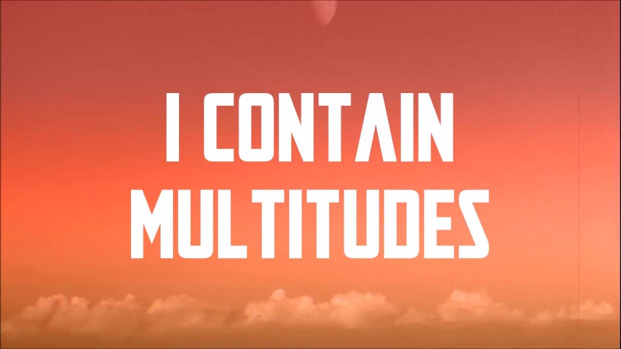I CONTAIN MULTITUDES LYRICS-BOB DYLAN-LyricsOverA2z
