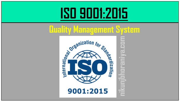 ISO 9001:2015 | Quality Management System