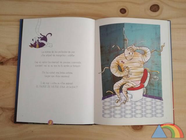 Interior del libro Monstruopedia, un catálogo de monstruos (que no existen)