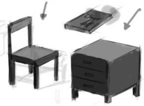 Pengembangan bentuk Kubus untuk menggambar benda sebagai media latihan teknik dasar menggambar