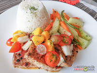 Eddie's Kitchen, Italian Cuisine, American Cuisine, Antipolo, blue marlin fish fillet rice meal