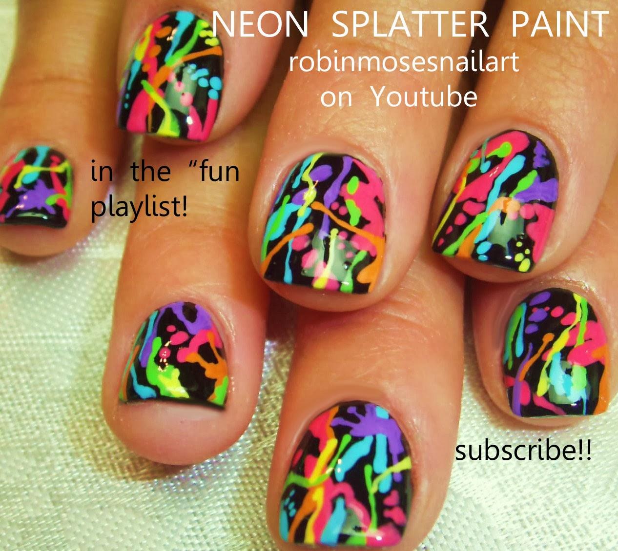 Kitsch art nail or cute