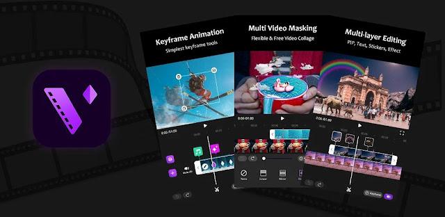 قم بتنزيل Motion Ninja -Video Editor & Animation Maker  - تطبيق محرر فيديو احترافي لنظام الاندرويد