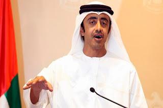 Menteri Luar Negeri UEA Abdullah bin Zayed