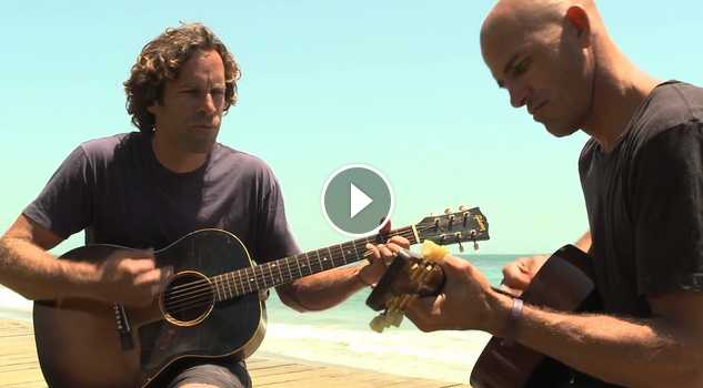 Jack Johnson and Kelly Slater Perform Home