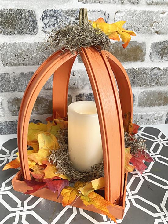pumpkin lantern for fall