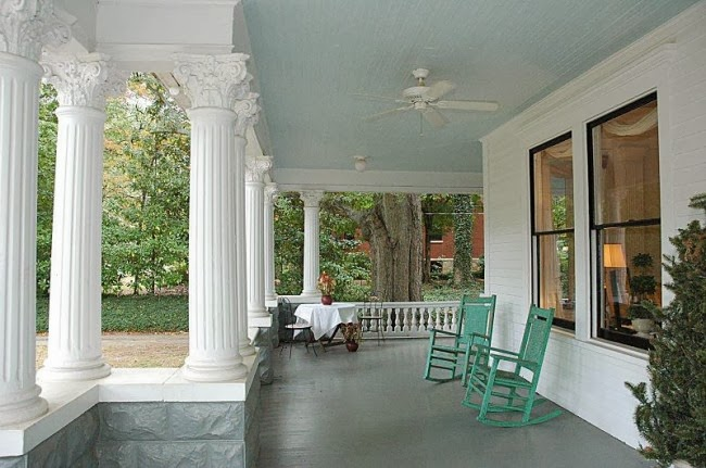 Southgate Residential Haint Blue Porch Ceilings