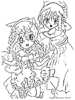 Kamichama Karin Coloring Pages