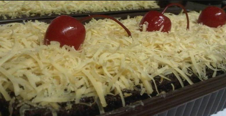 Resep Brownies Topping Keju Oven Kompor