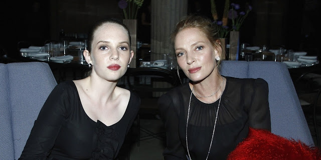 Maya Hawke and Uma Thurman