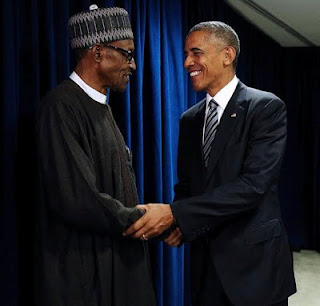 Buhari assure president Obama_ we will resolve Niger Delta problem soon..