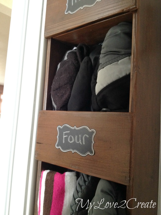 Cubby Storage Rack