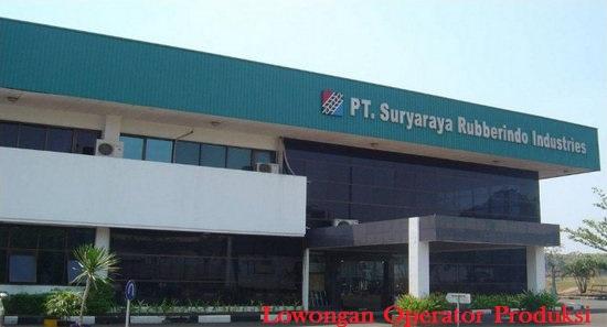 Operator Produksi - PT Suryaraya Rubberindo Industries (PT SRI) - Bogor