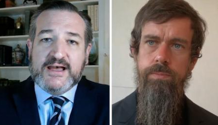 Jack Dorsey questioned by Ted Cruz