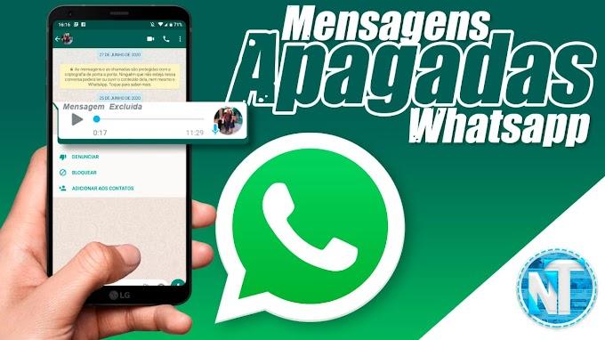 Como LER mensagens apagadas (EXCLUÍDAS) do Whatsapp