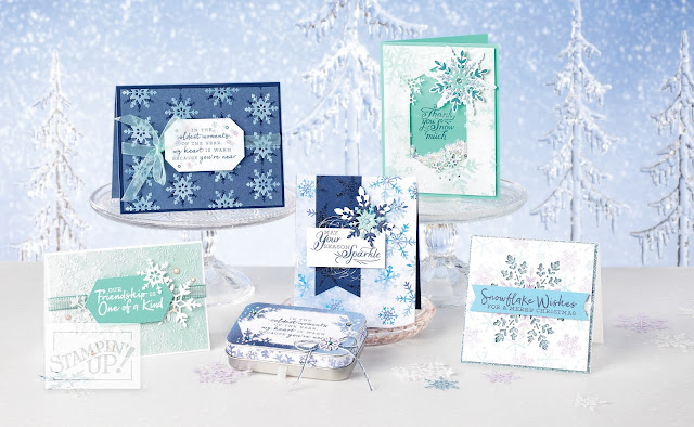 winter, christmas, snowflake splendor suite, snowflake splendor ideas, stampin' up!, holiday mini catalog, paper crafts, stamping, craft supplies, stampin' up! demonstrator