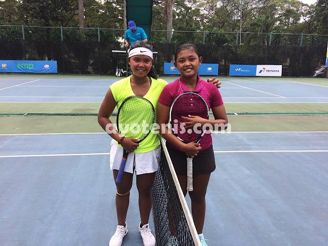Kalahkan Niken Ferlyana, Rifanty ke Final Kualifikasi Turnamen Tenis Pertamina 25K ITF Women's Circuit