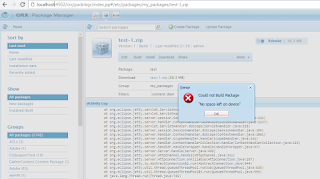 no_space_left_on_device_aem_package
