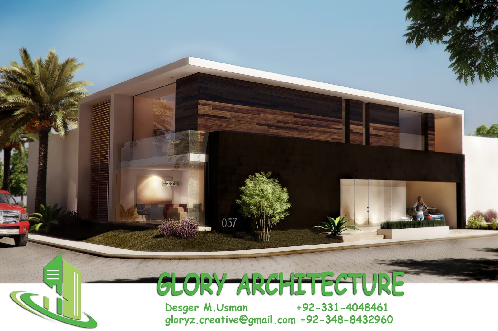 60x75 house plan 60x75 house elevation 60x75 pakistan for Complete home design