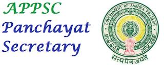APPSC Panchayat Secretary Syllabus
