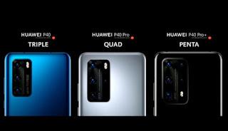 Huawei P40 series telah rilis