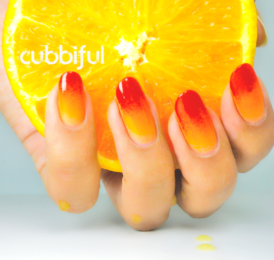 Kiko orange nails
