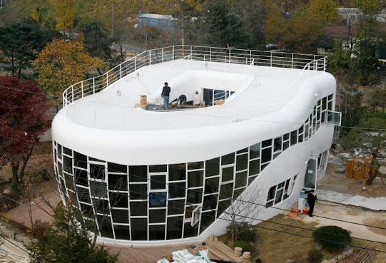 Ngôi nhà hình bản cầu , Hàn Quốc