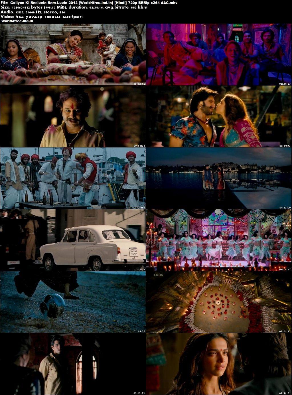 Goliyon Ki Rasleela Ram-Leela 2013 world4free.ind.in Hindi Movie Download BRRip