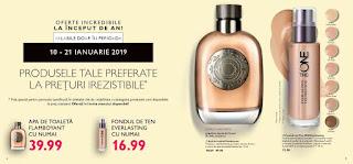 CATALOGUL ORIFLAME nr.1 21 ianuarie 2019 parfum Flamboyant