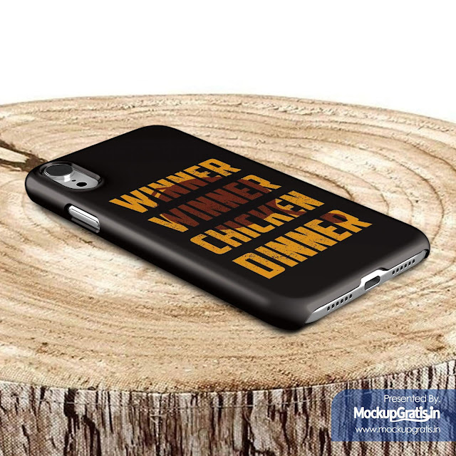 Contoh Mockup Gratis Custom Case iPhone XR