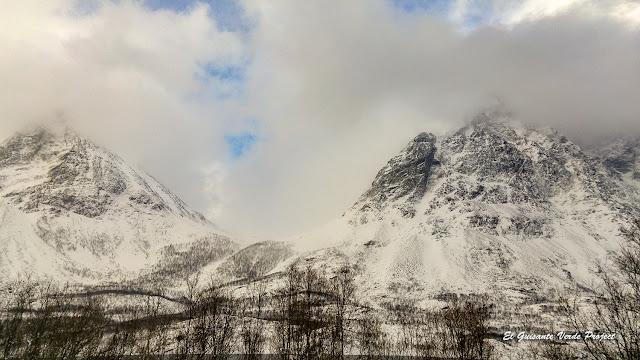 Lyngen Alps entre las nubes - Tromso por El Guisante Verde Project