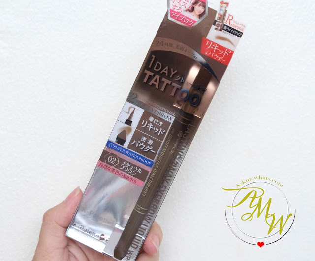 a photo of K-Palette Lasting 2Way Eyebrow Liquid (Shade 02) review by Nikki Tiu of askmewhats.com